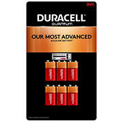Duracell Quantum 9V Batteries, 6 ct.