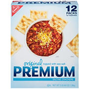 Nabisco Premium Saltine Crackers, 12 pk./4 oz.