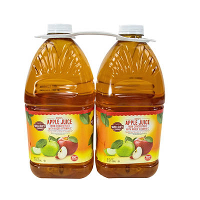Wellsley Farms Apple Juice, 2 pk./96 oz.