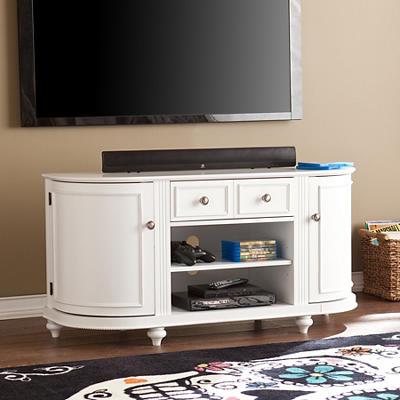 "SEI Dregon 48"" TV Media Stand - White"