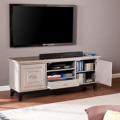 "SEI Offal 60"" TV Media Stand - Antique Gray"