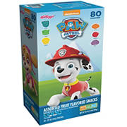 Paw Patrol Assorted Fruit Flavored Snacks, 80 ct.