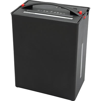 Sentinel FX124BC Cross-Cut Compaction Paper Shredder with Handle, 12-S