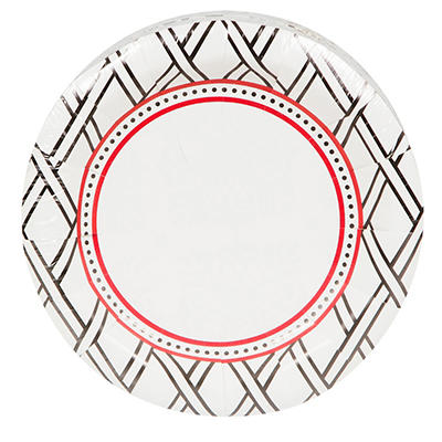 """Artstyle 7"""" Plates, 75 ct. - Simply Woven"""