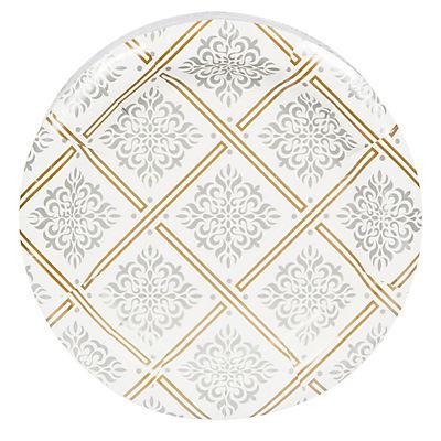 """Artstyle 7"""" Plates, 75 ct. - Majestic Metallics"""