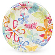 """Artstyle 10"""" Plates, 40 ct. - Butterfly Bouquet"""