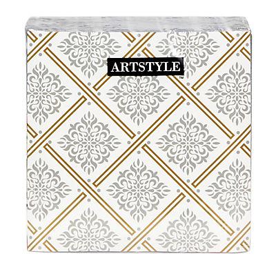 Artstyle 3-Ply Napkins, 120 ct. - Majestic Metallics