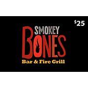 $25 Smokey Bones Gift Card, 2 pk.