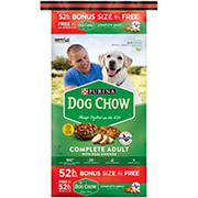 Purina Dog Chow Complete Adult with Real Chicken Food, 52 lbs.