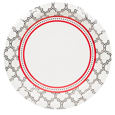 """Artstyle 10"""" Plates, 40 ct. - Simply Woven"""