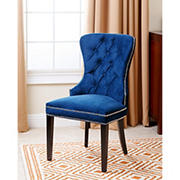 Abbyson Living Tyrus Tufted Dining Chair - Navy Blue