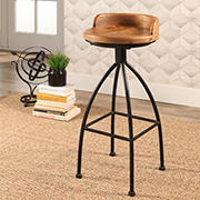 Abbyson Living Colby Industrial Iron Bar Stool