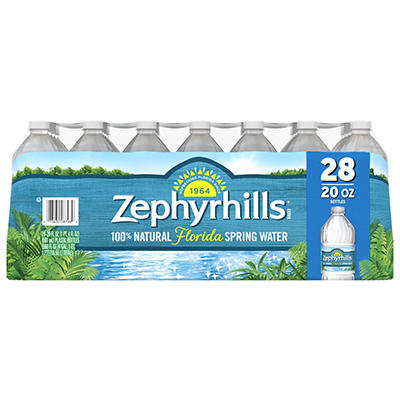 Zephyrhills 100% Natural Spring Water, 28 pk./20 oz.