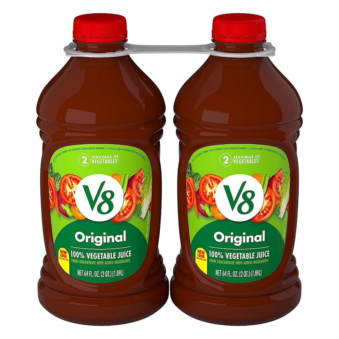 V8 Vegetable Juice, 2 pk./64 oz. - BJs