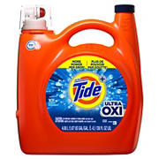 Tide Ultra Concentrated  with Ultra OXI Liquid Laundry Detergent, 101 loads, 138 fl. oz.