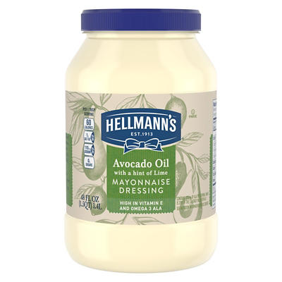 Hellmanns Avocado Lime Mayonnaise, 48 oz.