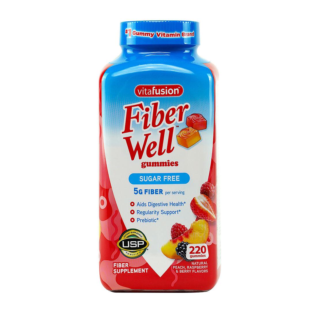 Vitafusion Fiber Gummies, 220 ct. - BJs
