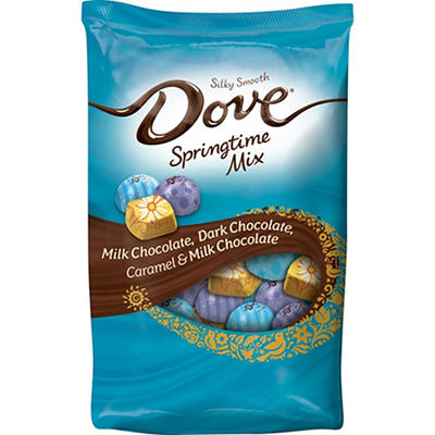 DOVE Easter Assorted Chocolate Candy Springtime Mix, 33 oz.