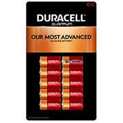 Duracell Quantum C Batteries, 10 ct.