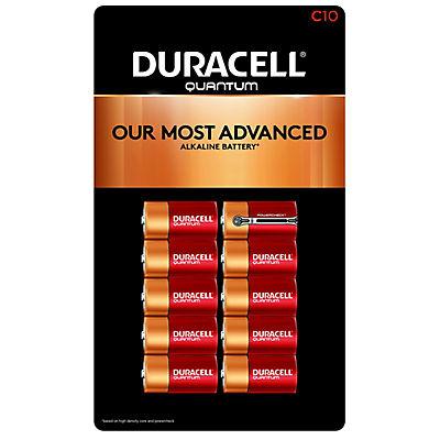 Duracell Quantum C Batteries, 10 ct.