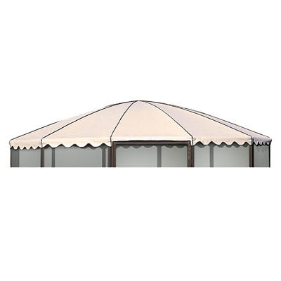 "Casita Replacement Roof for 14'9"" Complete Round Screenhouse - Almond"