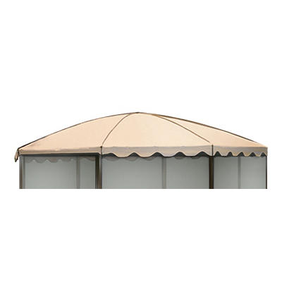 "Casita Replacement Roof for 11'1"" Round Screenhouse - Almond"