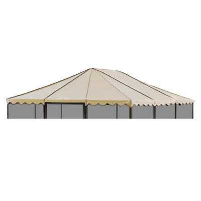 "Casita Replacement Roof for 11'7"" Square Screenhouse - Almond"