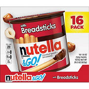 Ferrero Nutella & Go with Breadsticks, 16 ct./1.8 oz.