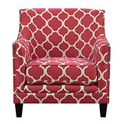 Picket House Furnishings Deena Accent Chair - Red