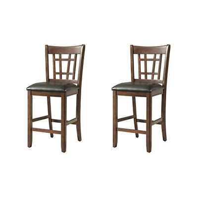 Picket House Furnishings Sam Pub Side Chairs, 2 pk. - Cherry