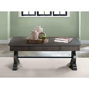 Picket House Furnishings Stanford Coffee Table - Dark Walnut