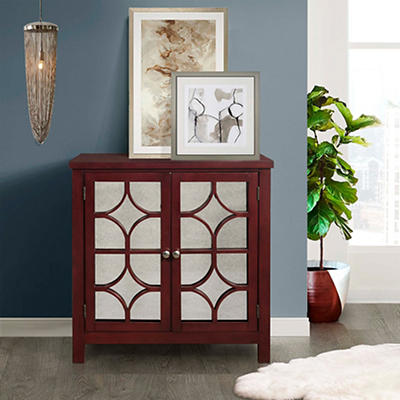 Picket House Furnishings Harlow Accent Chest - Antique Red