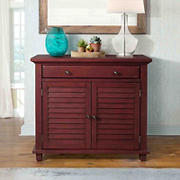 Picket House Furnishings Marshall Accent Chest - Antique Red