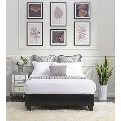 Picket House Furnishings Abby Full-Size Platform Bed - Black