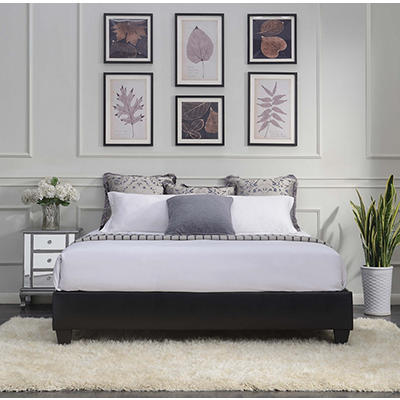 Picket House Furnishings Abby King-Size Platform Bed - Black