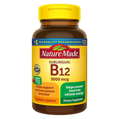 Nature Made 300mg Vitamin B12, 250 ct.