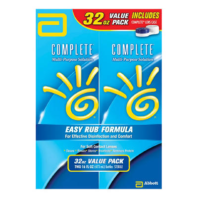 AMO Complete Multi-Purpose Solution, 2 pk./16 fl. oz.