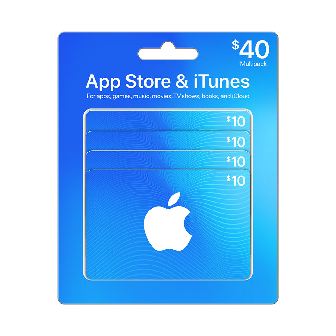 $40 App Store & iTunes Gift Cards Multipack