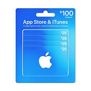 $100 App Store & iTunes Gift Cards Multipack
