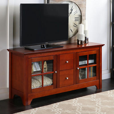 "W. Trends 52"" Entertainment Center - Walnut"