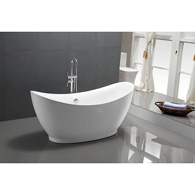 "ANZZI Reginald 68"" Tub - White"