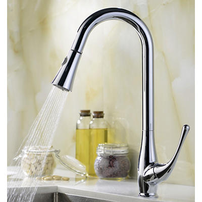 """ANZZI Moore 32"""" x 20"""" Kitchen Sink with 041 Faucet - Brushed Silver"""