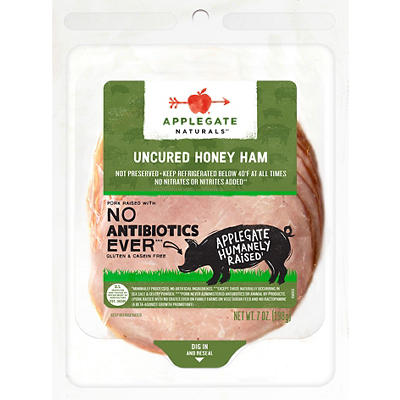 Applegate Naturals Uncured Honey Ham, 7 oz.