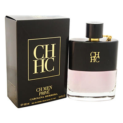 CH Men Prive by Carolina Herrera for Men, 3.4 oz.