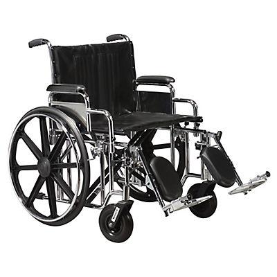 Drive Medical Sentra Heavy-Duty Wheelchair With Detachable Desk Arms a