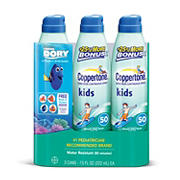 Coppertone Kids Continuous Spray Sunscreen SPF 50, 3 pk./7.5 oz.