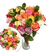 Two Dozen Rainbow Roses Bouquet
