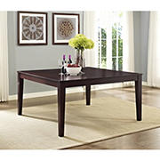 "W. Trends 60"" Dining Table - Cappuccino"