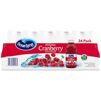 Ocean Spray Cranberry Juice Cocktail, 24 pk./10 oz.