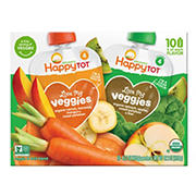 Happy Family Love My Veggies Pouches Variety Pack, 10 pk./4.22 oz.
